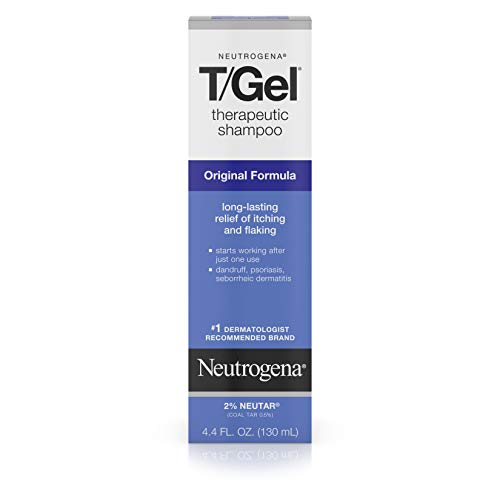 Neutrogena T/Gel Therapeutic Shampoo Original Formula 4.40 oz ( Pack of 2)