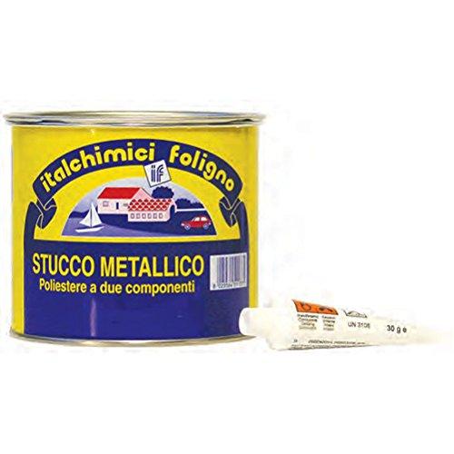 Masilla bicomponente para hierro, 125 ml