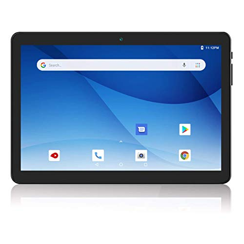 Android Tablet 10 Inch, 3G Phablet Android 9.0 Pie, Dual SIM Card Slots and Cameras, GMS Certified, 32GB, Bluetooth, WiFi, GPS
