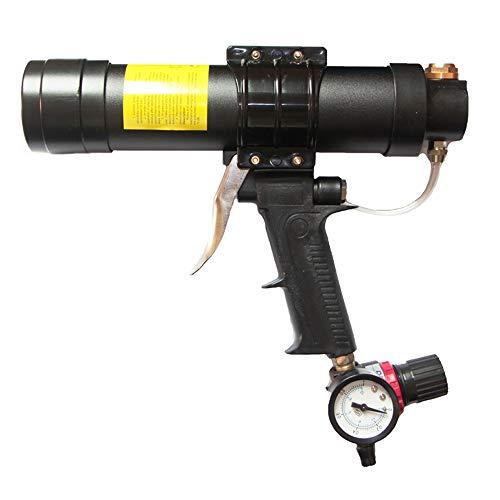 Zylinder Druckluft Kartuschenpistole-TopSer CK-08 310 ml Air Kartuschenpistole mit 23 cm Aluminium Schaft für 310 ml Glas Kleber für Home Dekoration,Kleber Konstruktion Industrie,Hardware Tools