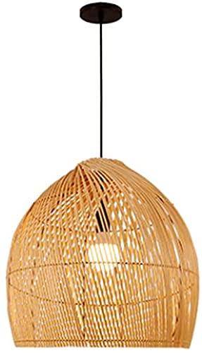 Candelabro De Bambú De Estilo Japonés, Nostalgia Creativa, Casa De Té, Tatami, Luz Colgante Zen, Lámpara Colgante De Ratán Simple De Bricolaje, Decoración De Iluminación De Una Sola Cabeza Industrial