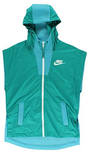 Nike Women's Tech Hypermesh Vest Medium Omega Blue/White