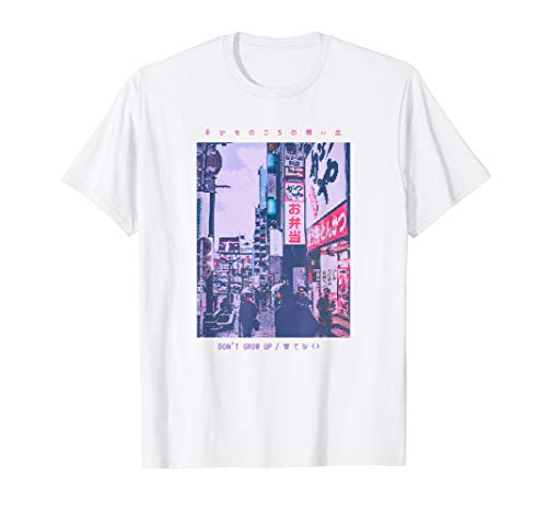 90's Lofi Tokyo Japanese Streetwear Aesthetic Graphic Tee