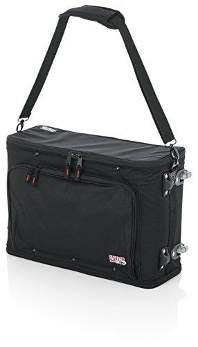GATOR-Koffer Gestell 19 GR 2 U aus verstärktem Nylon mit Rädern