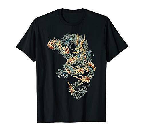 Chinesischer Drache Mythologie Drachenkönig T-Shirt