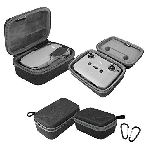 Owoda Mavic Mini 2 Custodia per Drone + Borsa per radiocomando Viaggio Valigetta da Trasporto Protettiva Portatile Impermeabile Zaino per DJI Mavic Mini 2 Accessori (Non per Mavic Mini)
