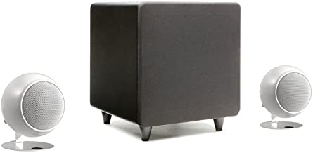 Orb Audio mini Classic One 2.1 Stereo Speaker System (Pearl White Gloss)