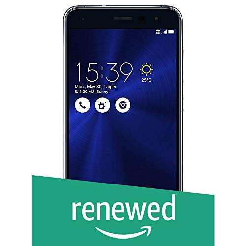 (Renewed) Asus Zenfone 3 ZE520KL-1A035IN (Black, 32GB)