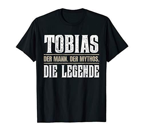 Vorname Tobias T-Shirt Geschenk Name Tobias