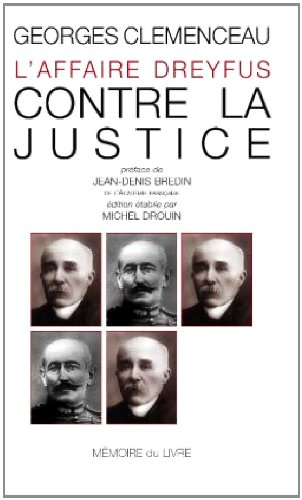 L'affaire Dreyfus - Contre la justice (MSCAR.M-ESSAI S)