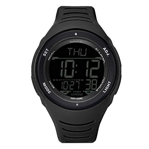 Reloj Digital Reebok RDVERG9PBPBBA para Hombre Negro