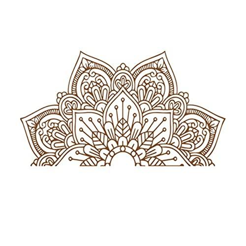 Pegatinas de pared de flor de loto autoadhesivas de PVC para decoración del hogar, pegatinas de pared de loto para sala de estar, dormitorio, TV de fondo decorativo de vinilo autoadhesivo de PVC