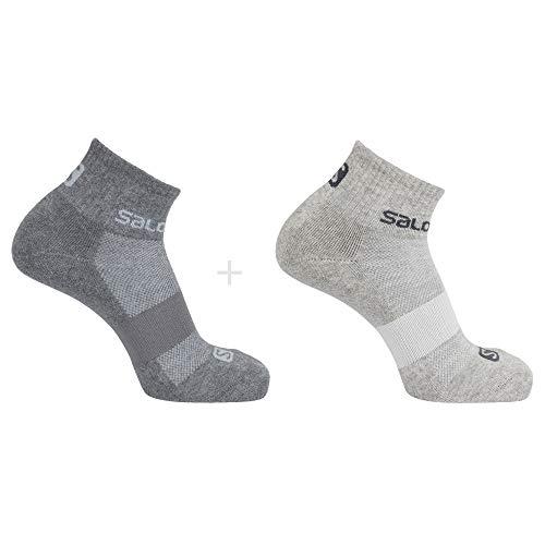 Salomon Standard Socks, Light Heather/Medium Grey Heat, M
