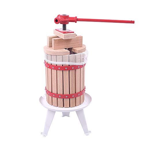 WEIERR 6L Obstpresse Presstuch Mechanische Saftpresse Weinpresse Apfelpresse Fruchtpresse