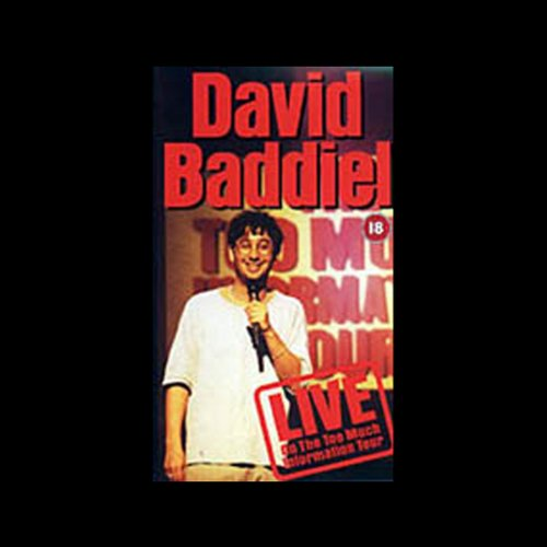 David Baddiel audiobook cover art