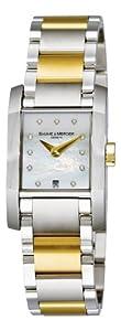 Baume & Mercier Women's 8738 Diamant Two Tone Watch image