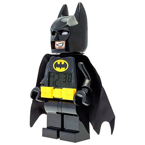 Lego Batman 9009327 - Reloj despertador digital con alarma LED para niños