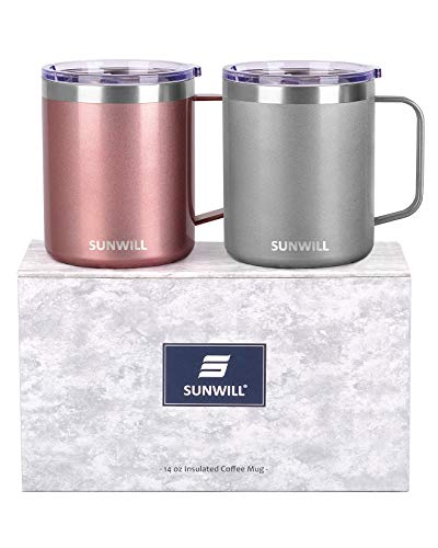 SUNWILL Coffee Mug 2 Pack