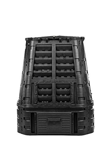myGardenlust Komposter - Schnellkomposter aus Kunststoff - Thermokomposter als praktisches Stecksystem - Kompostierer stabil und hochwertig - Composter für Garten-Abfälle - 650 L