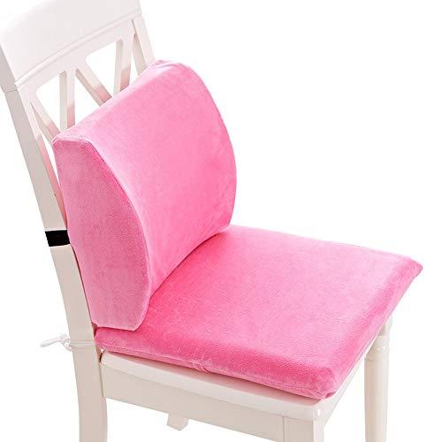 SEGIBUY Memory Foam zitkussen & Lumbar ondersteuning verlichting voor lage rugpijn Coccyx orthopedisch voor bureaustoel, auto, rolstoel, wasbare hoezen