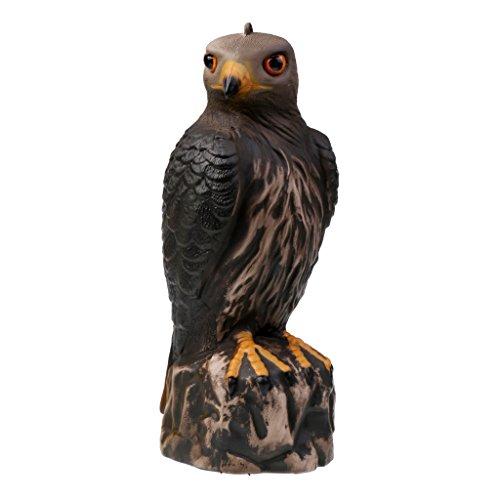 MagiDeal Gartenfigur Vogelscheuche Taubenschreck Garten Dekofigur - Adler/Taube Auswählbar - Adler