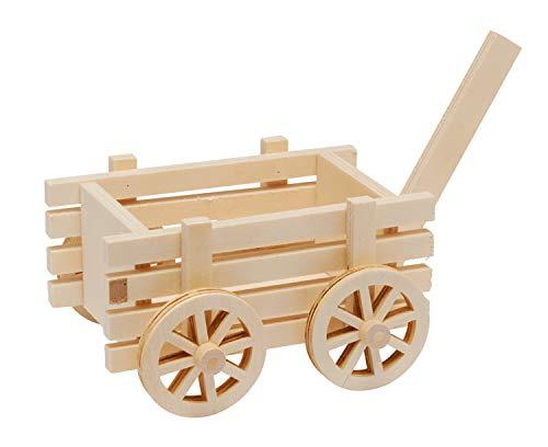 VBS Leiterwagen Holzwagen Wagen Karren Holzkarren