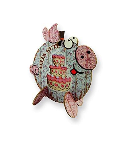 Swiggie Gutschwein Geschenkverpackung Alles Gute