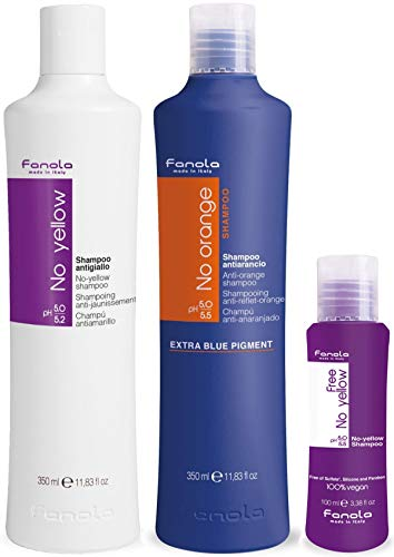 Fanola No Yellow and No Orange Shampoo Package