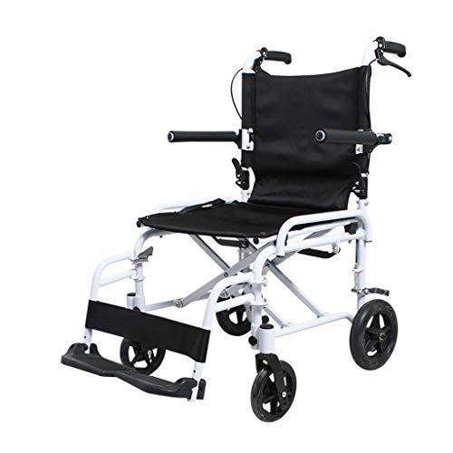 BBG Silla De Ruedas, Ultralight Portable Elderly Disabled Scooter Creative Folding Multifunction Manual Simple for The Elderly Wheelchair Heavy