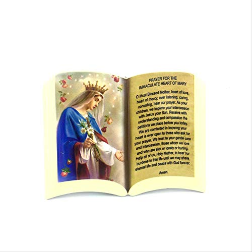 LBSST Mesa de cerámica cristiana misericordia Jesús Luddleyang La Virgen San Jesús Pastor