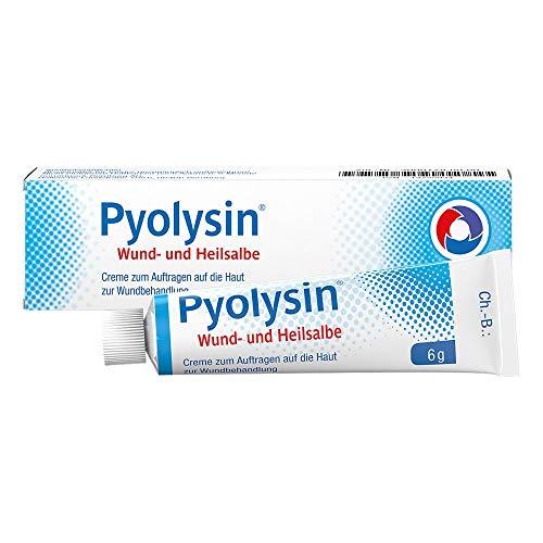 Pyolysin Wund- und Heilsalbe, 6 g