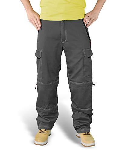 Surplus Raw Vintage Herren Cargo Trekkinghose, schwarz, S