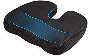 ouying1418 Travel Breathable Seat Cushion Coccyx Orthopedic Memory Foam U Seat Massage