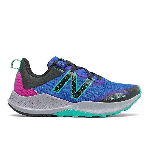 New Balance Nitrel V4 - Zapatillas de correr para mujer, Azul (Azul claro/Guayaba), 37 EU