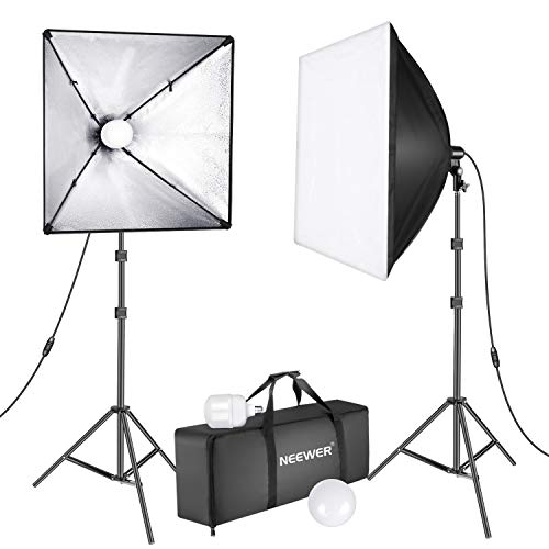 Neewer Upgraded 450W LED Softbox Lighting Kit