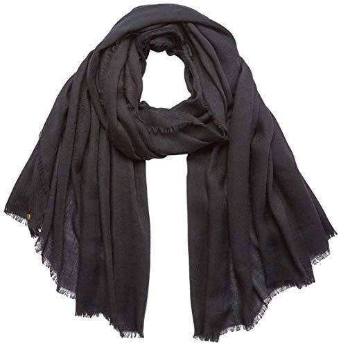 ESPRIT edc by Accessoires Damen 120CA1Q309 Mode-Schal, 001/BLACK, 1SIZE