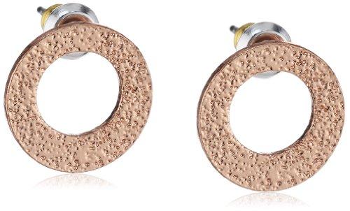 Pilgrim Jewelry Damen-Ohrstecker Messing aus der Serie roségold beschichtet, 1.2 cm 281324003