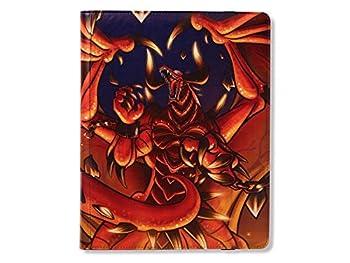 Rendshear Red Dragon Shield Codex 9 Pocket Portfolio 18 360 Card Storage Binder