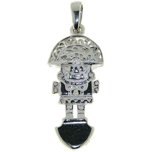 Derby Anhänger Tumi Maya Talisman massiv echt Silber 23236