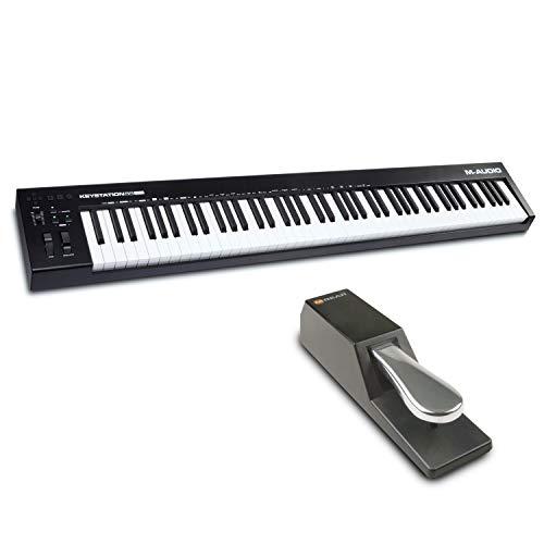 M-Audio Keystation 88 MK3 + SP-2 - Tastiera controller MIDI a 88 tasti + Pedale di Sustain Universale