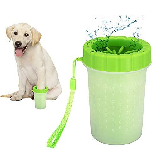 Detergente per zampe di cane|Tazza per la pulizia delle zampe di cane|Detergente portatile per zampe per animali domestici