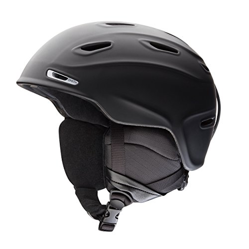 SMITH Herren Helm Aspect Skihelm, Schwarz Matt, M /55-59