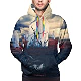 XCNGG Sudadera con Capucha para Hombre Suéter para Hombre Men in This Moment Hoodies Fun Classic Novelty Sweatshirt Casual Pullover with Pocket