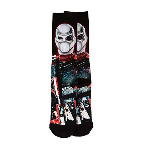 DC Comics Herren Deadshot Socken Einheitsgröße Multicolor