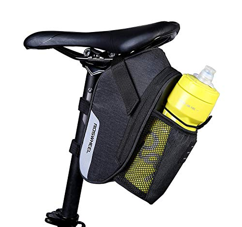 Roswheel Waterproof Bike Seat Saddle Bag New Roomy Strapon Bicycle Seat Bag Pack