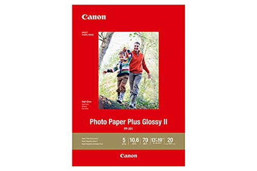 "CanonInk Photo Paper Plus Glossy II 13"" x 19"" 20 Sheets (1432C010)"