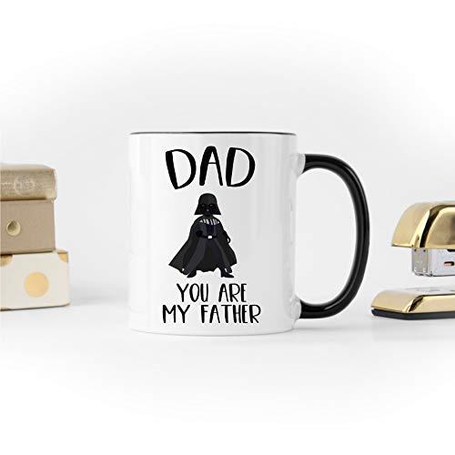 """DKISEE Tasse mit Darth-Vader-Motiv, Vatertagsgeschenk, Geschenk für Vater, lustiges Geschenk für Vater, Vater, lustiger Vater, """"You are My Father"""", 325 ml"""
