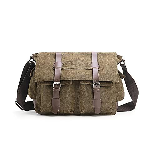 Verlenpaple Messenger Bag Schultertasche...