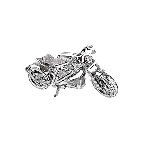 3D-Metallmontagemodell Motorrad, 3D Metall Puzzle DIY 3D-Bausatz im Maßstab 1:13, Modell Kits Konstruktionsspielzeug Verbesserung Der Denkentwicklung Von Kindern, Geburtstagsgeschenke (A)