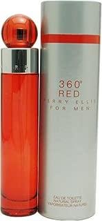 Perry Ellis 360 Red By Perry Ellis For Men. Eau De Toilette Spray 1.7 Ounces
